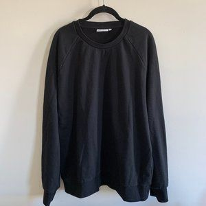 Weekday Paris Black Women's Sweatshirt Size Large